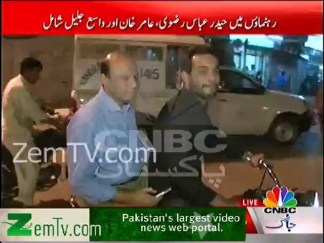 MQM MNA & Prominent Leaders taking tour of Karachi on Bikes
