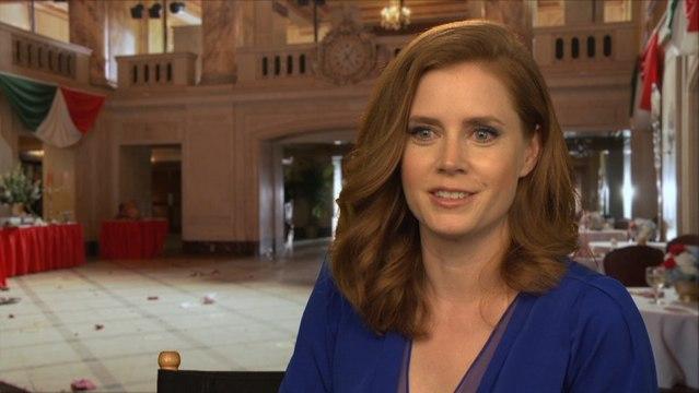 Amy Adams On Jennifer Lawrence, Christian Bale and Bradley Cooper