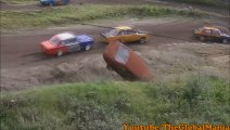 Rally Accident! Car Crashes Into Dirt!