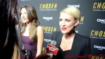 "Nicky Whelan ""Laura Mitchell"" at Crackle's #Chosen S2 Premiere #RedCarpet @NickyWhelan"