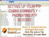 filezilla Simultaneous transfer and IP block prevention web hosting in Korea