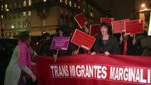 Manif de prostituées à Paris contre le texte voté à l'Assemblée