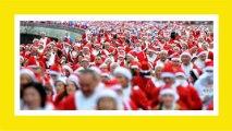 La folle corsa dei Babbi Natale