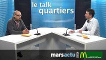 Le talk quartiers Mohamed Bensaada, membre du collectif des Quartiers populaires de Marseille