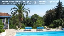 A vendre - maison/villa - BIDART (64210) - 7 pièces - 330m²