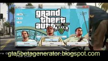 GTA 5 Key Beta Generator PC PS3 XBOX NO SURVEY FREE