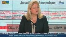 Françoise Gri, directrice générale de Pierre & Vacances, Center Parcs, dans Le Grand Journal - 05/12 1/4