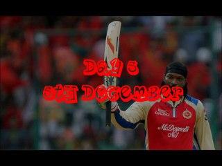 Advent Calendar Day 5 - Gayle Sets Record @ IPL