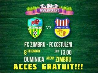 PROMO ||| ZIMBRU vs COSTULENI ||| Acces gratuit!!!
