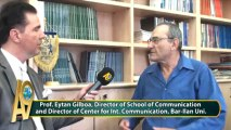 Prof. Eytan Gilboa, Director of School of Communication and Director of Center for Int. Communication, Bar-Ilan Uni.