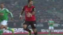 But Silvio ROMERO (68ème) - Stade Rennais FC - AS Saint-Etienne - (3-1) - 04/12/13 (SRFC - ASSE)