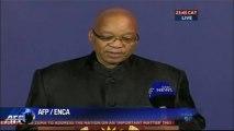 Jacob Zuma annonce la mort de Nelson Mandela