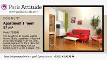 Alcove Studio Apartment for rent - Canal St Martin, Paris - Ref. 6581