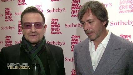 Musician & Activist Bono  helps raise more than $26 million