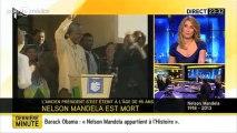 Lapsus sur i-TELE (mort de Nelson Mandela)