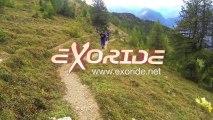 VTT enduro en Valais (Suisse) avec Exoride