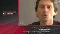 "Zap' Sport : ""Ibra ? Un joueur de NBA "" dixit Leonardo"