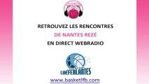 Webradio LFB - Nantes Rezé Basket