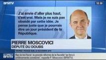 BFM Politique: L'interview de Pierre Moscovici par Anna Cabana du Point - 08/12 3/6