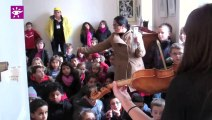 Téléthon 2013 : Le violon du Téléthon à La Côte-Saint-André (38)