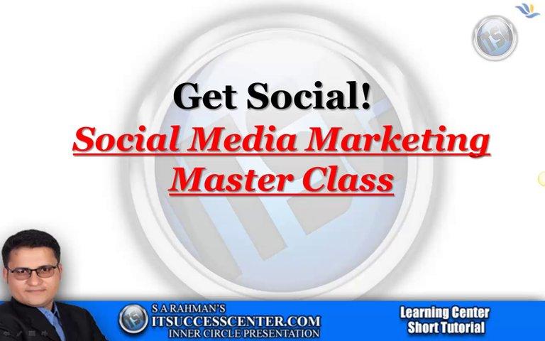 Social Media Marketing Master Class