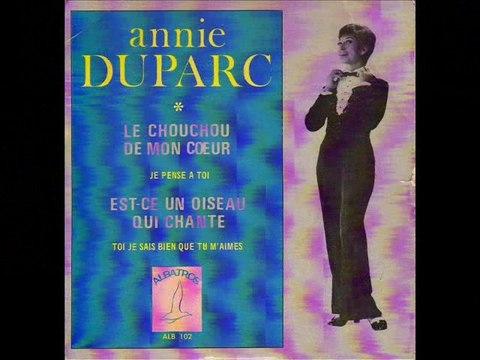 Annie Duparc Le chouchou de mon coeur (1969)