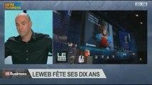 LeWeb fête ses dix ans: Loïc Le Meur dans 01Business - 07/12 1/4