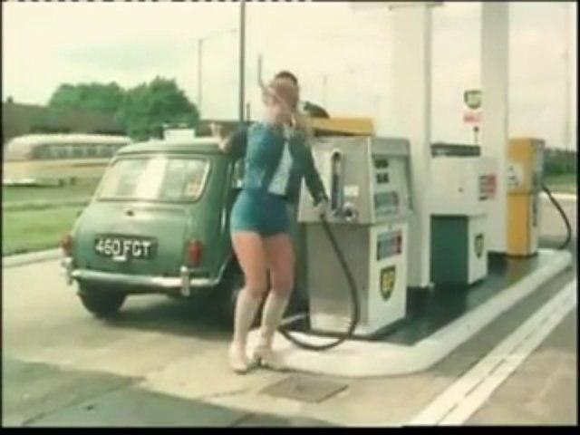 Hotpants girl 1970s bp