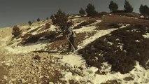 Journée marche au Mont Ventoux les pro du trail sont là mdr
