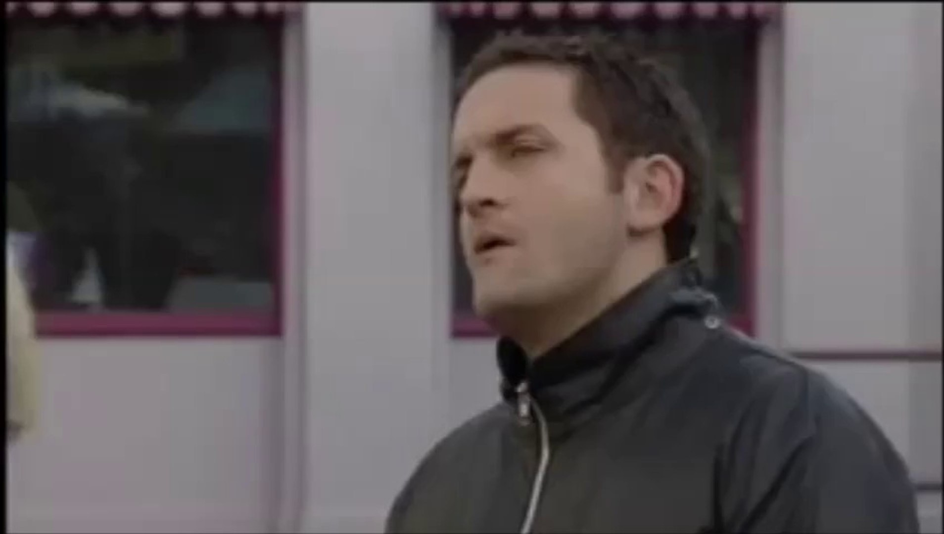 EastEnders - Danny Moon Punches Jake Moon (15 February 2005)