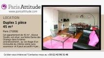Duplex Alcove Studio à louer - Jardin du Luxembourg, Paris - Ref. 2649