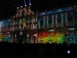 Fête des Lumières - 2013 -place des Terreaux : Le prince des Lumières