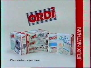 Publicité ORDI Jeux Nathan 1993