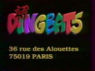 Extrait De L'emission DINGBATS Décembre 1992 France2