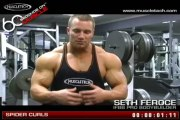 Biceps Bodybuilding Muscle Workout _60 Seconds on Muscle_ Bodybuilders training muscles MuscleTech  {MotivationBuild}