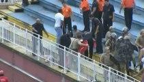 Bataille rangée entre supporters lors d'un match de foot au Brésil