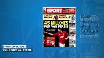 Le Barça connaît le prix à payer pour Van Persie, scandale de matches truqués en Angleterre !