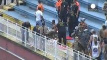 Brésil : violente bagarre entre supporters dans les tribunes
