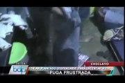 Reos intentaron huir de penal en Chiclayo vistiendo ropa de mujer