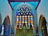 Eglise Saint-Pierre et croix dite du Bourg à Plougasnou Finistere