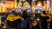 Ukrainian protesters insist on government's resignation
