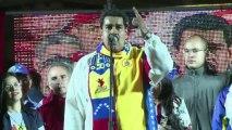 Maduro celebra los resultados de las elecciones