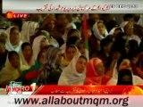 MQM Haider Abbas Rizvi on Youm e Shohada at Jinnah Ground Karachi