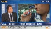 """BFM Story: la cigarette électronique: """"une concurrence déloyale"""" selon la justice - 09/12"""