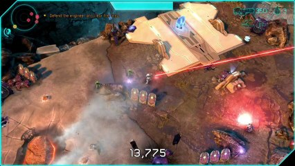 Halo : Spartan Assault - Campagn Gameplay Trailer de Halo : Spartan Assault