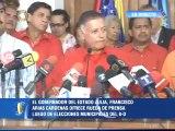 Arias Cárdenas: En Zulia, Psuv obtuvo 11% de ventaja con respecto a la oposición