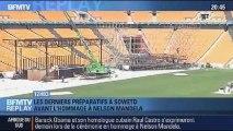 BFMTV Replay: Soweto: les derniers préparatifs avant les obsèques de Nelson Mandela - 09/12