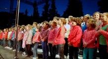 """Extraits du DVD du Concert """"Cap à l'Est"""" :  élèves en concert au théâtre antique de Vaison-la-Romaine le 25 juin 2013."""
