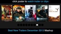 Les Films de Decembre 2013 Trailers HD