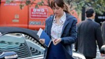 Anastasia Steele And Christian Grey Meeting - Fifty Shades Of Grey - Movie First Scene